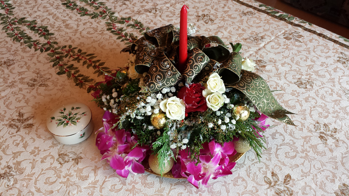 Delivery – Chelan Christmas Flowers 11