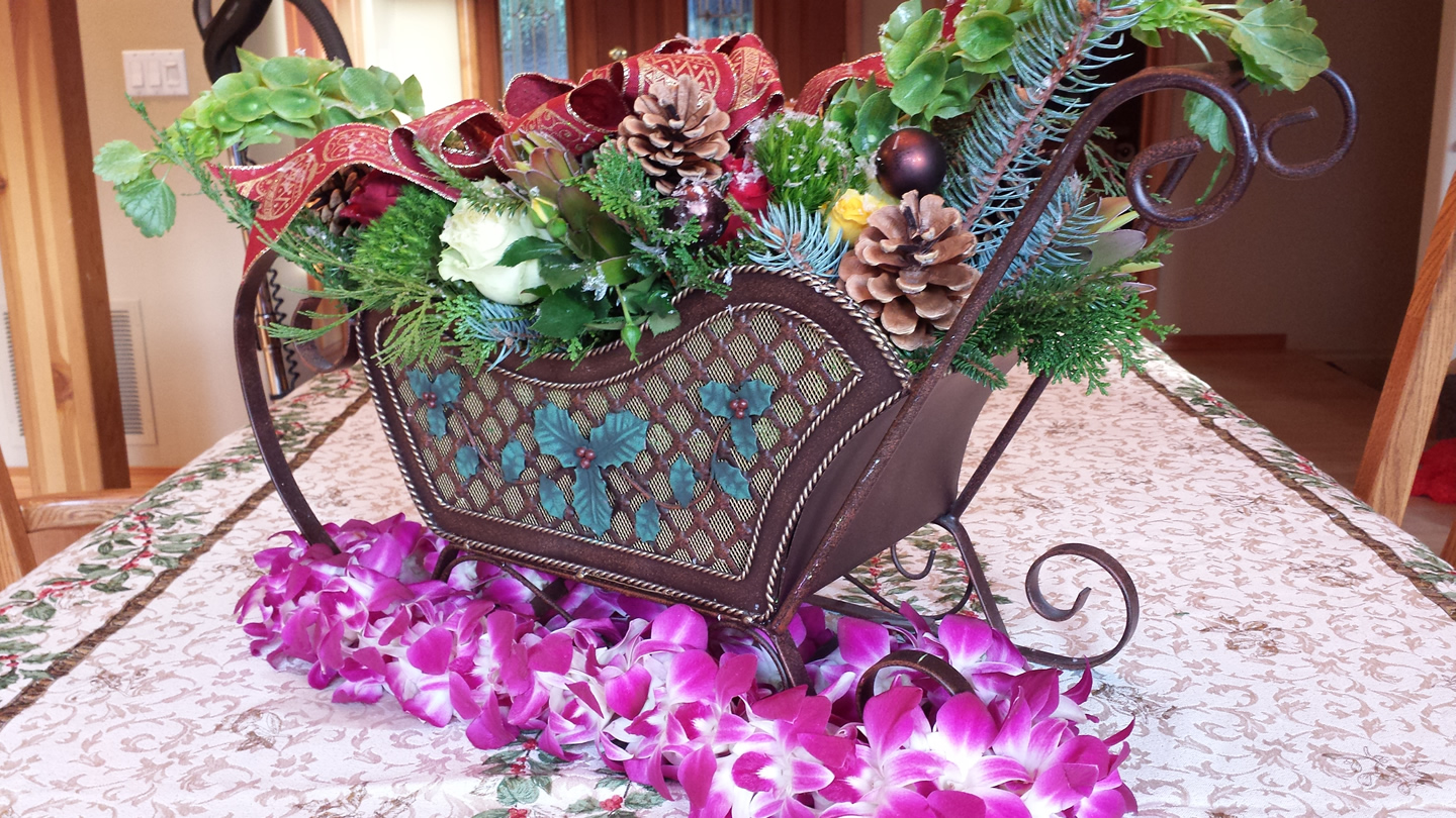 Delivery – Chelan Christmas Flowers 12