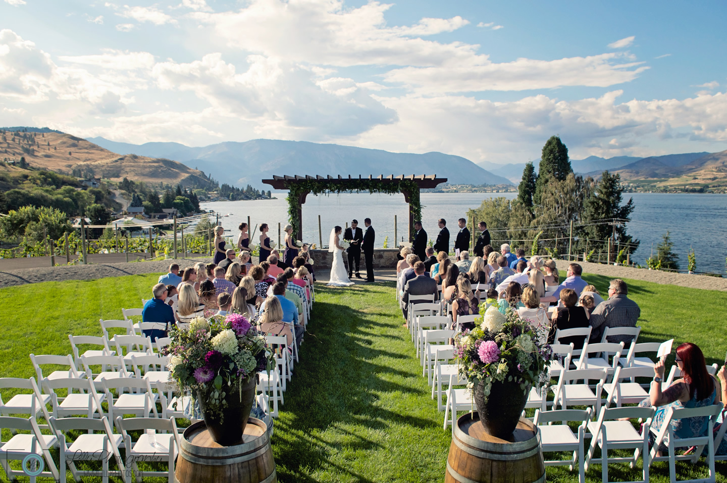 Red hill winery wedding