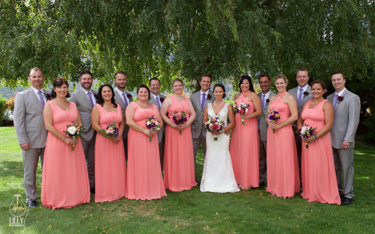 Erik & Jessica | Puyallup & Lake Chelan Floral & Event Planning