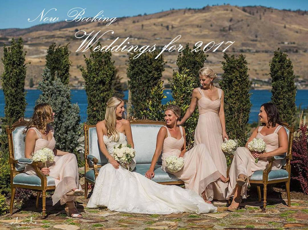 Now Booking For Wedding Planning and Flowers – 2017