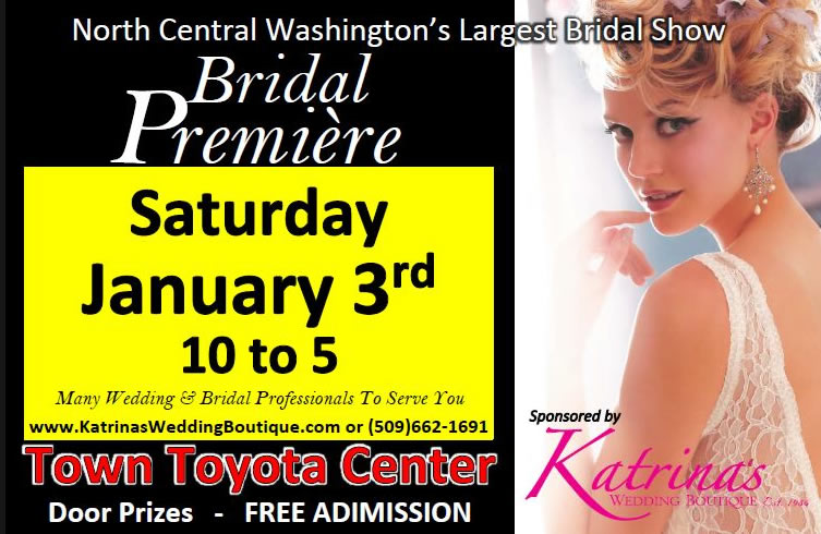 North Central Washington Bridal Bremiere – 2014