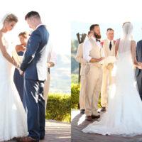 Wedding of Jeff & Renee at Benson Vineyards