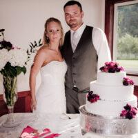 Wedding of Jason & Amanda at High Cedars