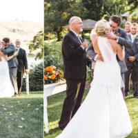 Wedding of Mike & AnnAlise at Rio Vista Winery